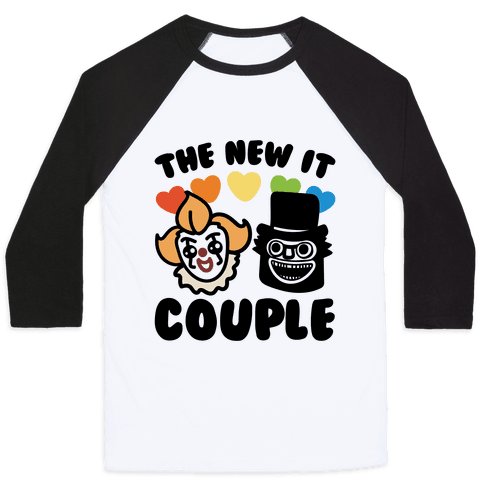 The New It Couple Parody Baseball Tee