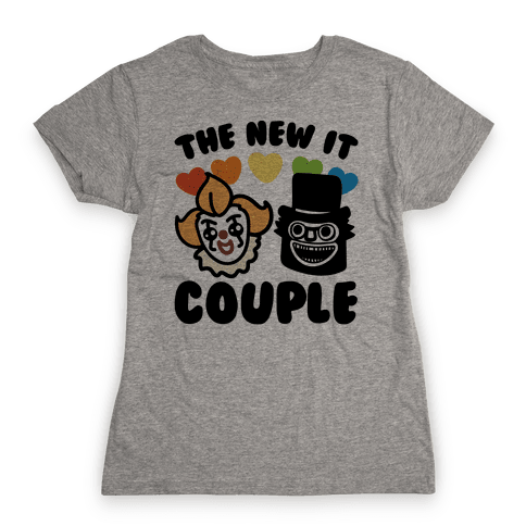 The New It Couple Parody Womens T-Shirt