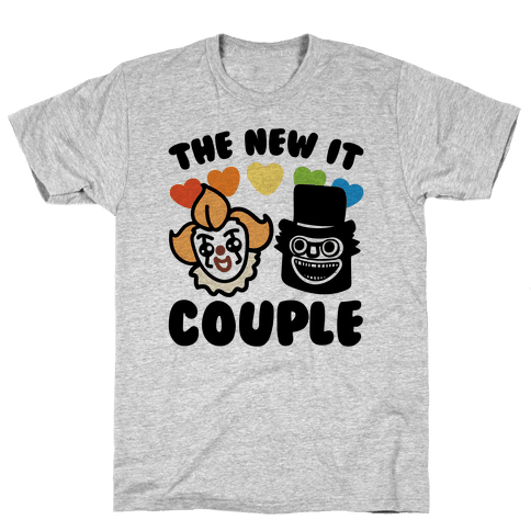 The New It Couple Parody Mens T-Shirt