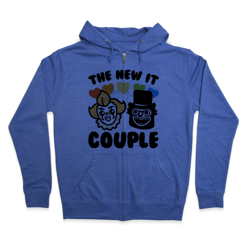 The New It Couple Parody Zip Hoodie