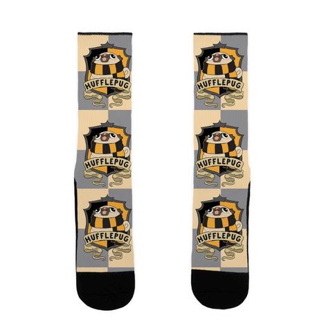 Hufflepug Sock