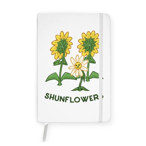 Shunflowers Notebook