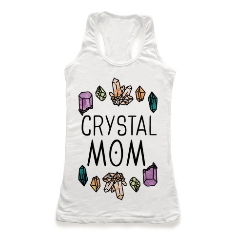 Crystal Mom Racerback Tank Top