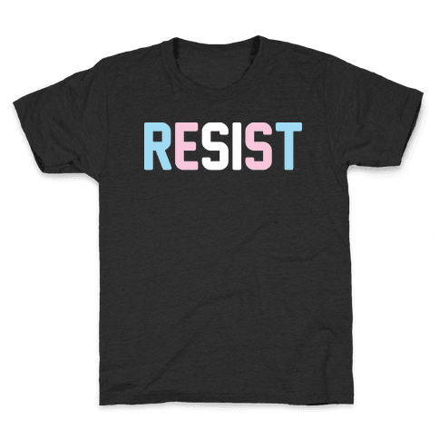 Transgender Resist Kids T-Shirt