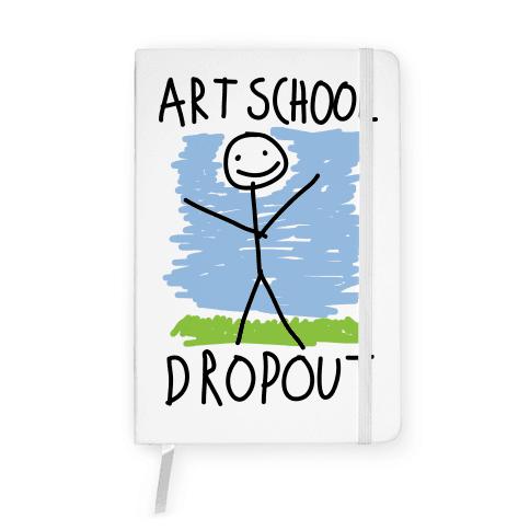 Art School Dropout Notebook