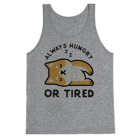 Always Hungry Or Tired Baby Tank Top