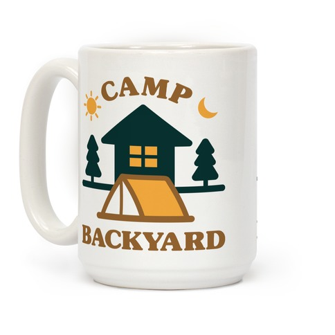 Camp Backyard Coffee Mug