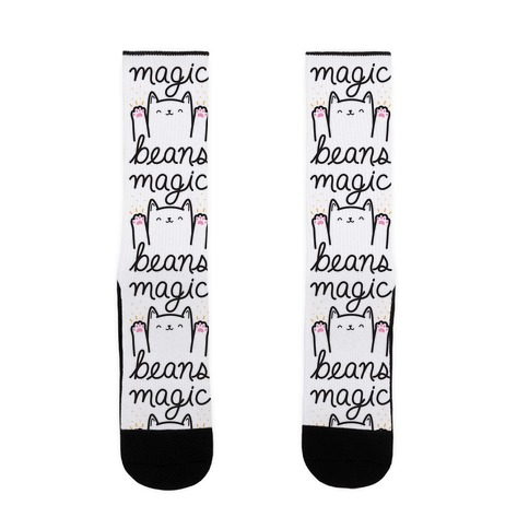 Magic Beans Cat Sock