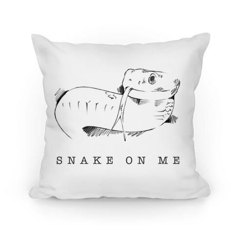 Snake On Me Pillow