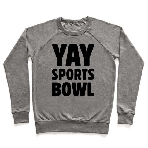 Yay Sports Bowl Pullover