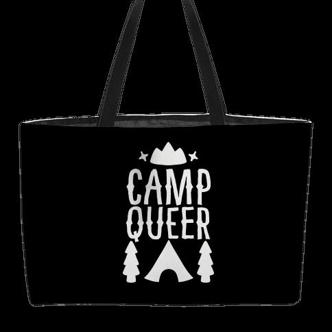 Camp Queer Weekender Tote