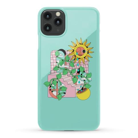 Trippy Sunflower Shower  Phone Case