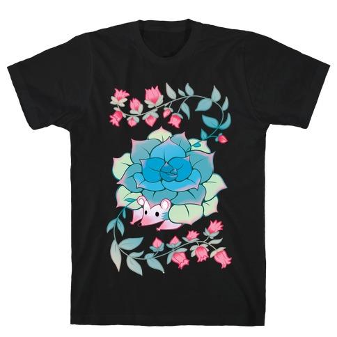 Hedgehog Succulent T-Shirt