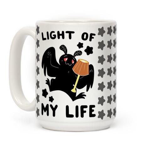 Light of my Life - Mothman and Lamp Coffee Mug