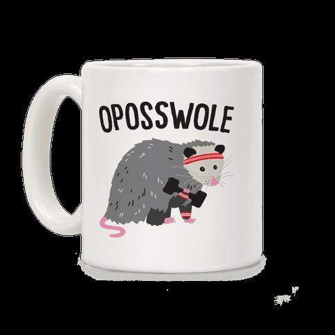 Oposswole Opossum Coffee Mug