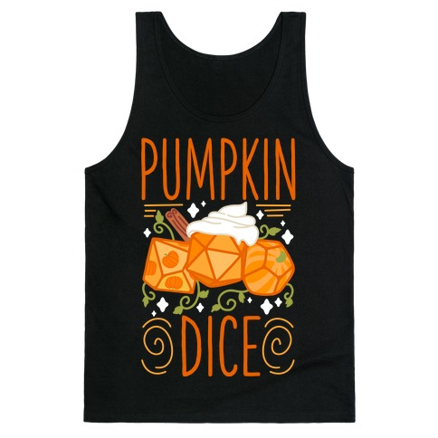 Pumpkin Dice Tank Top