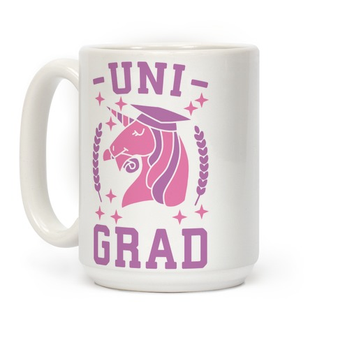 Uni Grad - Unicorn Coffee Mug