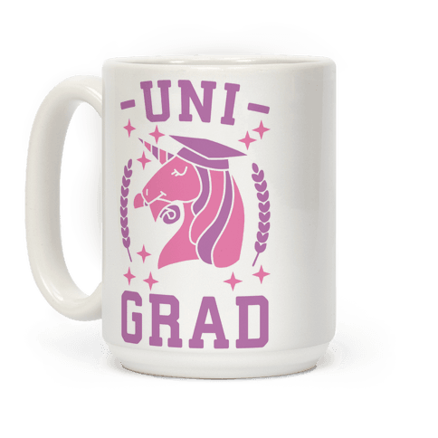 Uni Grad - Unicorn Coffee Mug