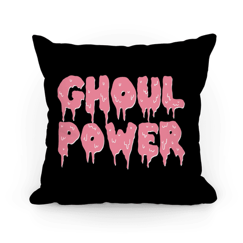 Ghoul Power Pillow