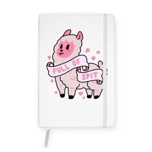 Full of Spit Llama Notebook