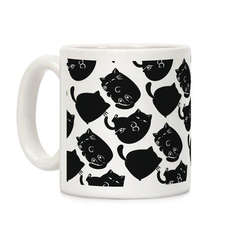 Kitty Pose Cycle  Coffee Mug
