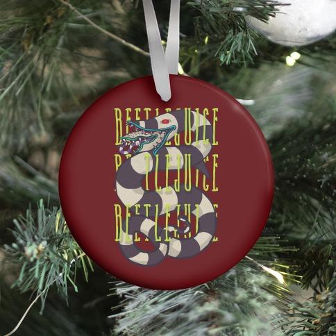 Beetlejuice Beetlejuice Beetlejuice Ornament