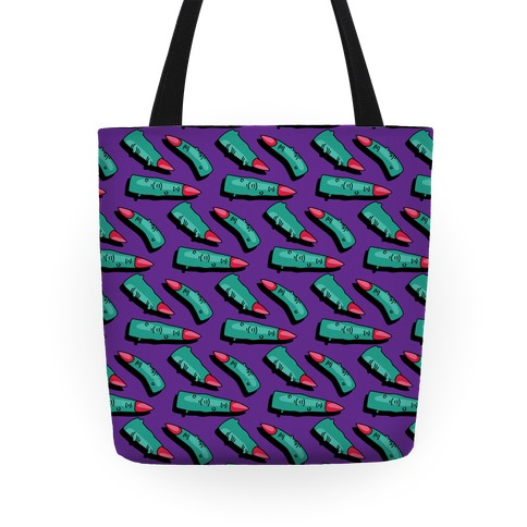 Witch Finger Pattern Tote