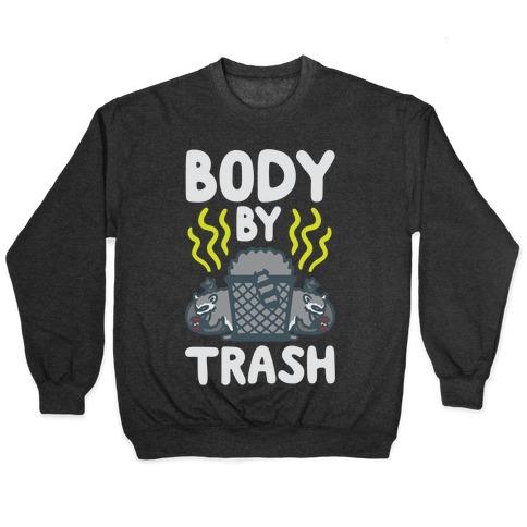 Body By Trash White Print Pullover