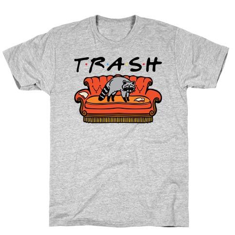 Trash Friends Parody T-Shirt