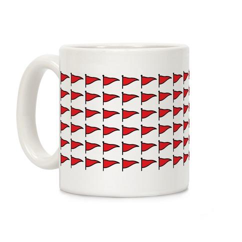 Red Flags Coffee Mug