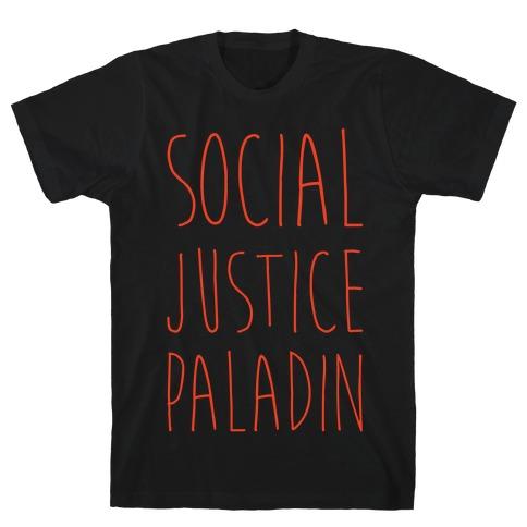 Social Justice Paladin Mens T-Shirt