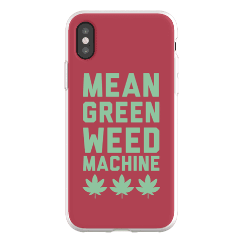 Mean Green Weed Machine Phone Flexi-Case