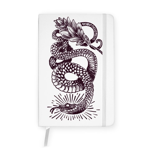 Laurel Snake Notebook