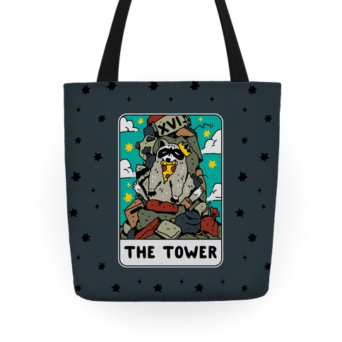 The Garbage Tower Tarot Tote