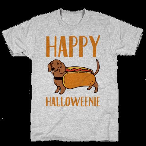 Happy Halloweenie Mens T-Shirt