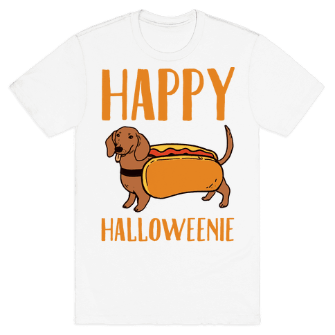Happy Halloweenie Mens T-Shirt