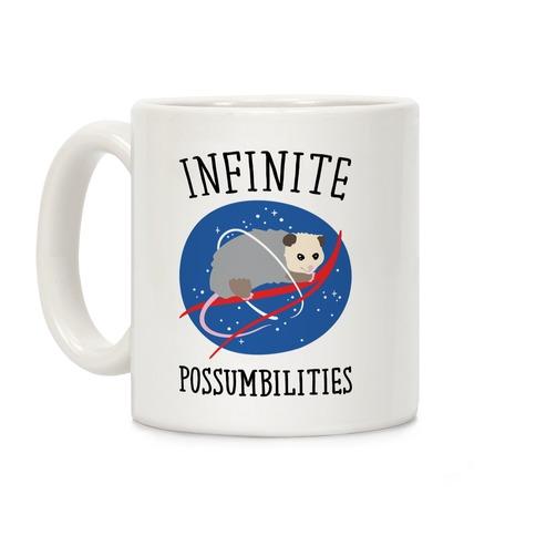 Infinite Possumbilities Parody Coffee Mug