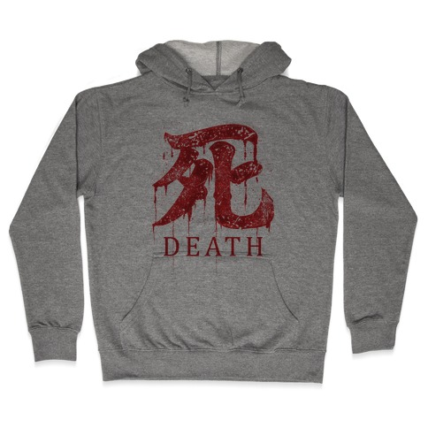 Death Hooded Sweatshirt