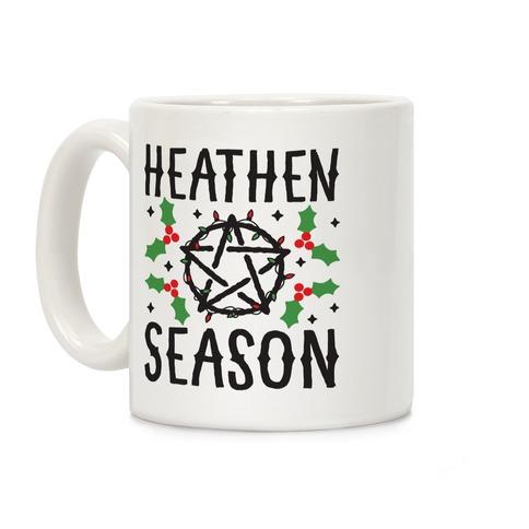 Heathen Season Christmas Coffee Mug