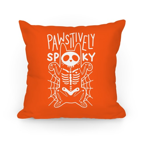 Pawsitively Spooky Pillow