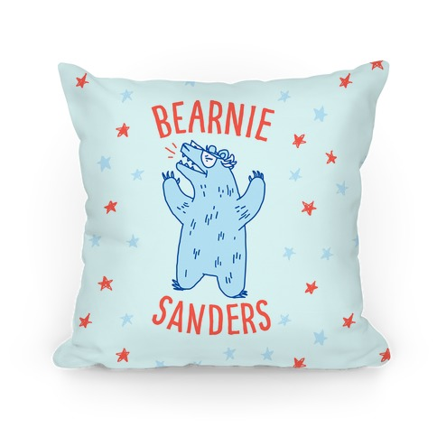 Bearnie Sanders Pillow