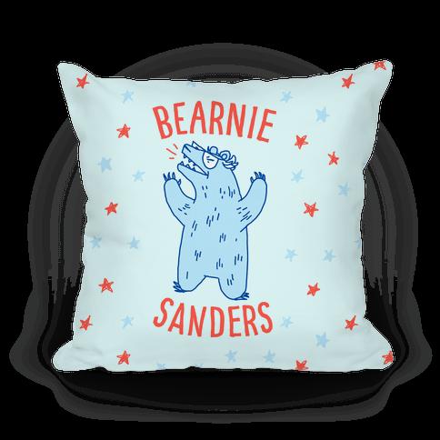 Bearnie Sanders Pillow