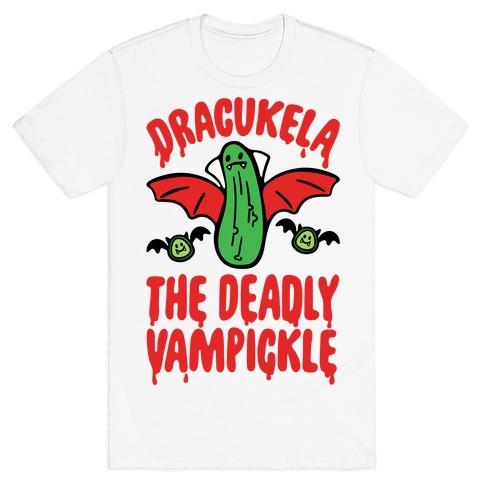 Dracukela Cucumber Parody T-Shirt