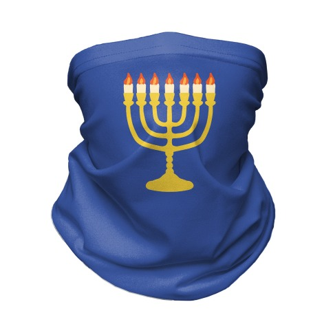 Menorah Mask Neck Gaiter
