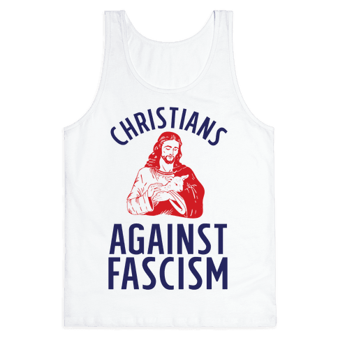 Christians Against Fascism Tank Top