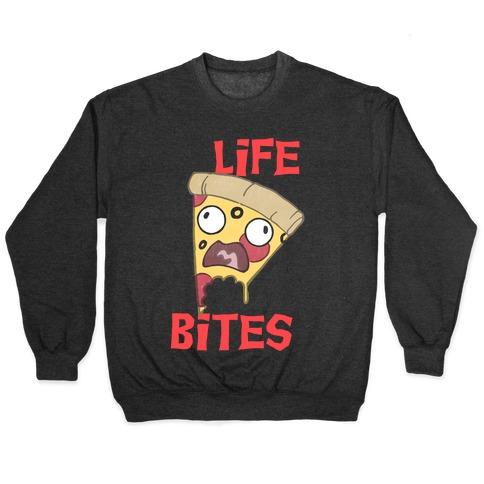 Life Bites Pizza Pullover