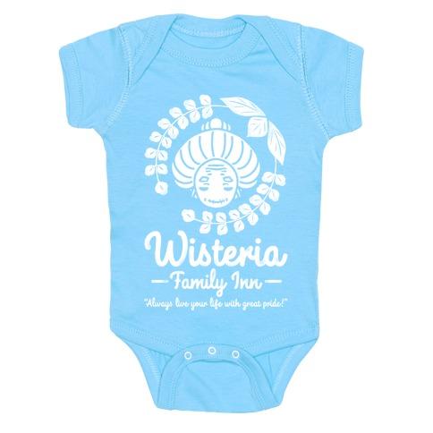 Wisteria Family Inn Baby Onesy