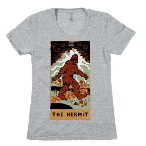 The Hermit (Bigfoot) Womens T-Shirt