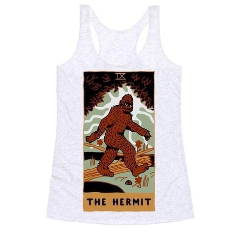 The Hermit (Bigfoot) Racerback Tank Top
