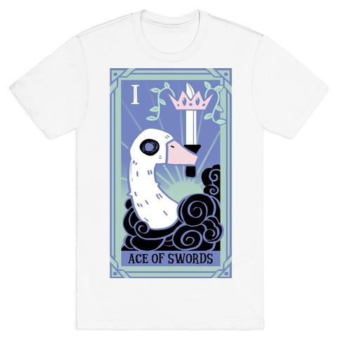 Creepy Cute Tarots: Ace Of Swords T-Shirt